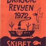 1972 - programforside