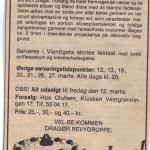 1982 - annonce