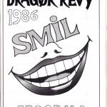 1986 - programforside