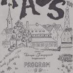 1991 - programforside