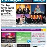 2012 - forside af amagerbladet